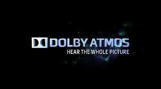 Logo and strapline for Dolby Atmos