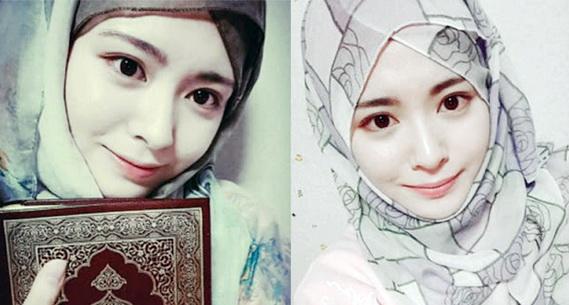 Mualaf Korea Ini Rajin Membagi Tutorial Hijabnya