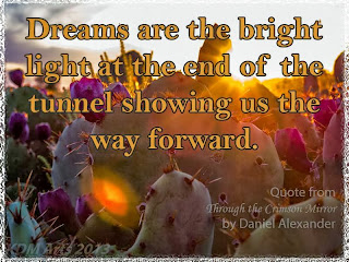 Dreams are the bright light at the end of the tunnel showing us the way forward.