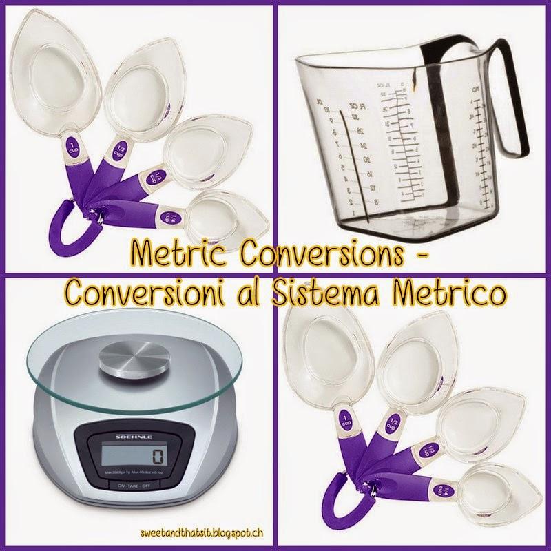 Metric Conversion - Conversione al Sistema Metrico