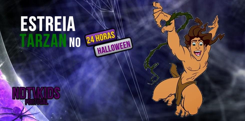 Estreia Tarzan no 24 Horas de Halloween