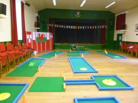 Portaputt Miniature Golf course, Cwmbran