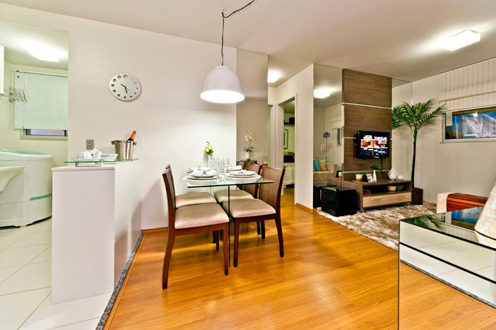 decoracao de interiores pequenos apartamentos:Apartamento pequeno decorado