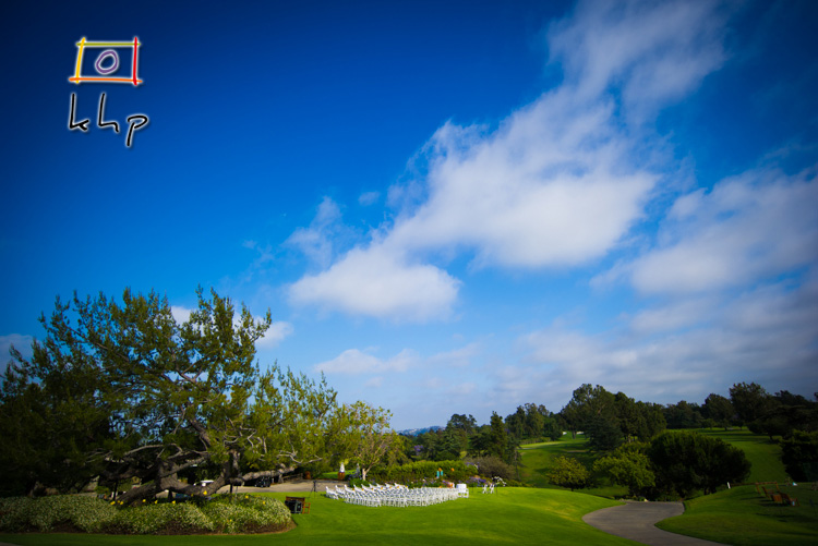 Hillcrest Country Club on Pico Boulevard is a gorgeous place for a wedding