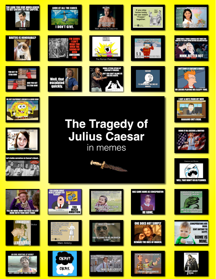 Shakespeare Made Easy: Julius Caesar in Memes