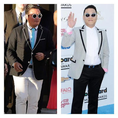 Fake Psy vs Real Psy