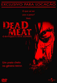 Filme Poster Dead Meat - O Banquete dos Zumbis DVDRip XviD & RMVB Dublado