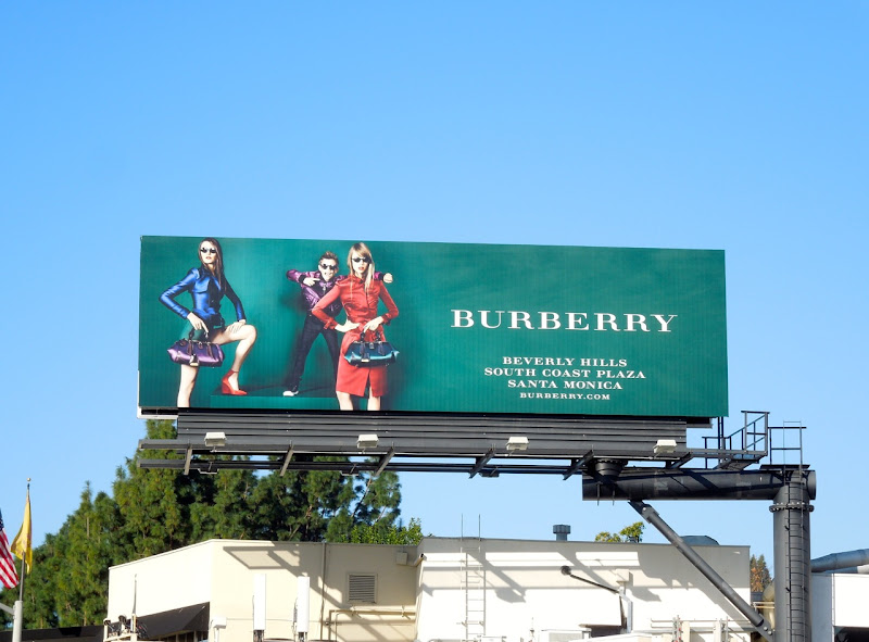 Romeo Beckham Burberry Spring 2013 fashion billboard