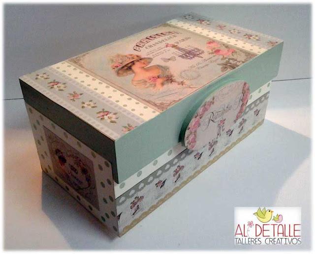 Rosabel manualidades cajas decoradas - Manualidades cajas decoradas ...