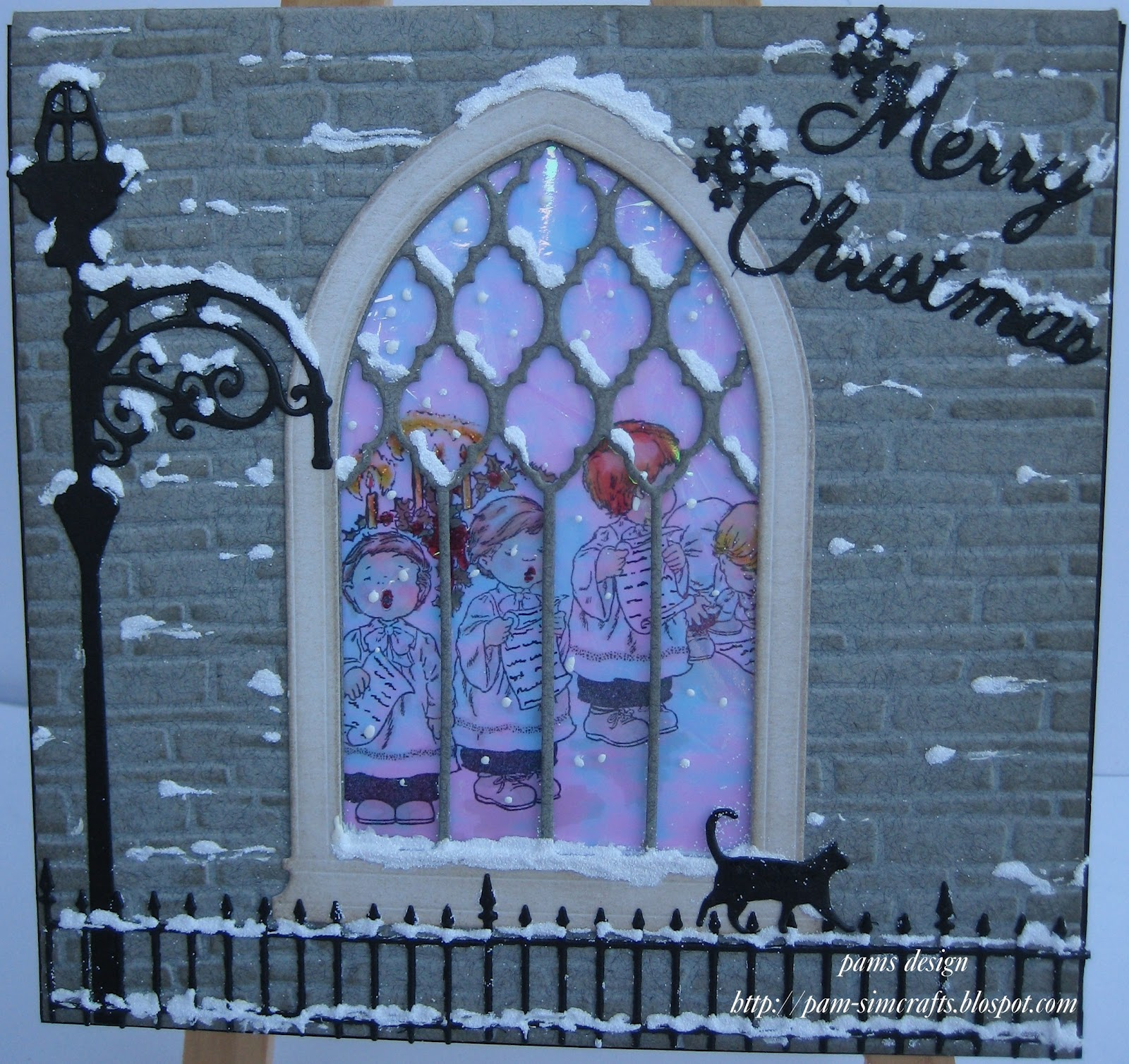 pamscrafts gothic window. Black Bedroom Furniture Sets. Home Design Ideas