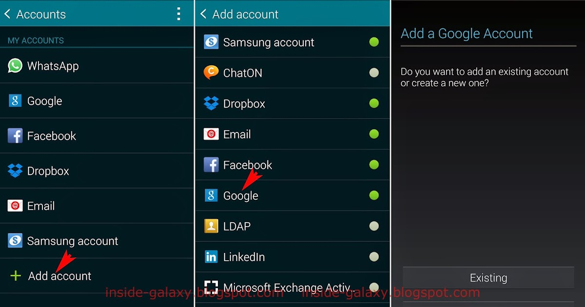 Как сделать samsung account