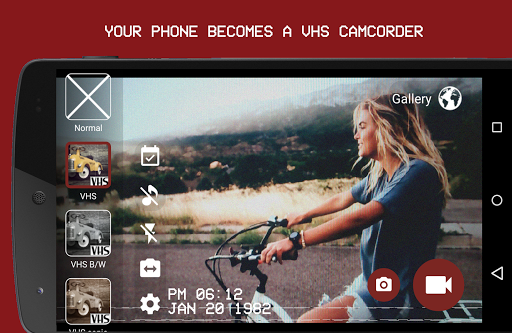 VHS Camera Recorder Apk Android Full Version Pro Free Download