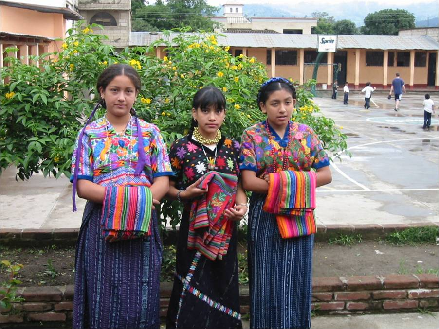 fashion style mayan traditional clothing for