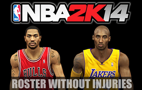 NBA 2k14 No-Injuries Roster Download (February 26, 2014)