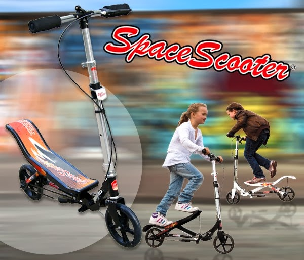Space Scooter Monopatín