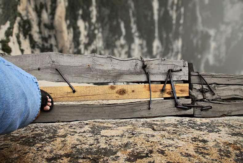 La pista de senderismo más peligroso del mundo