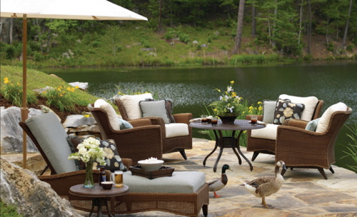 Patio design ideas: Patio furniture ideas