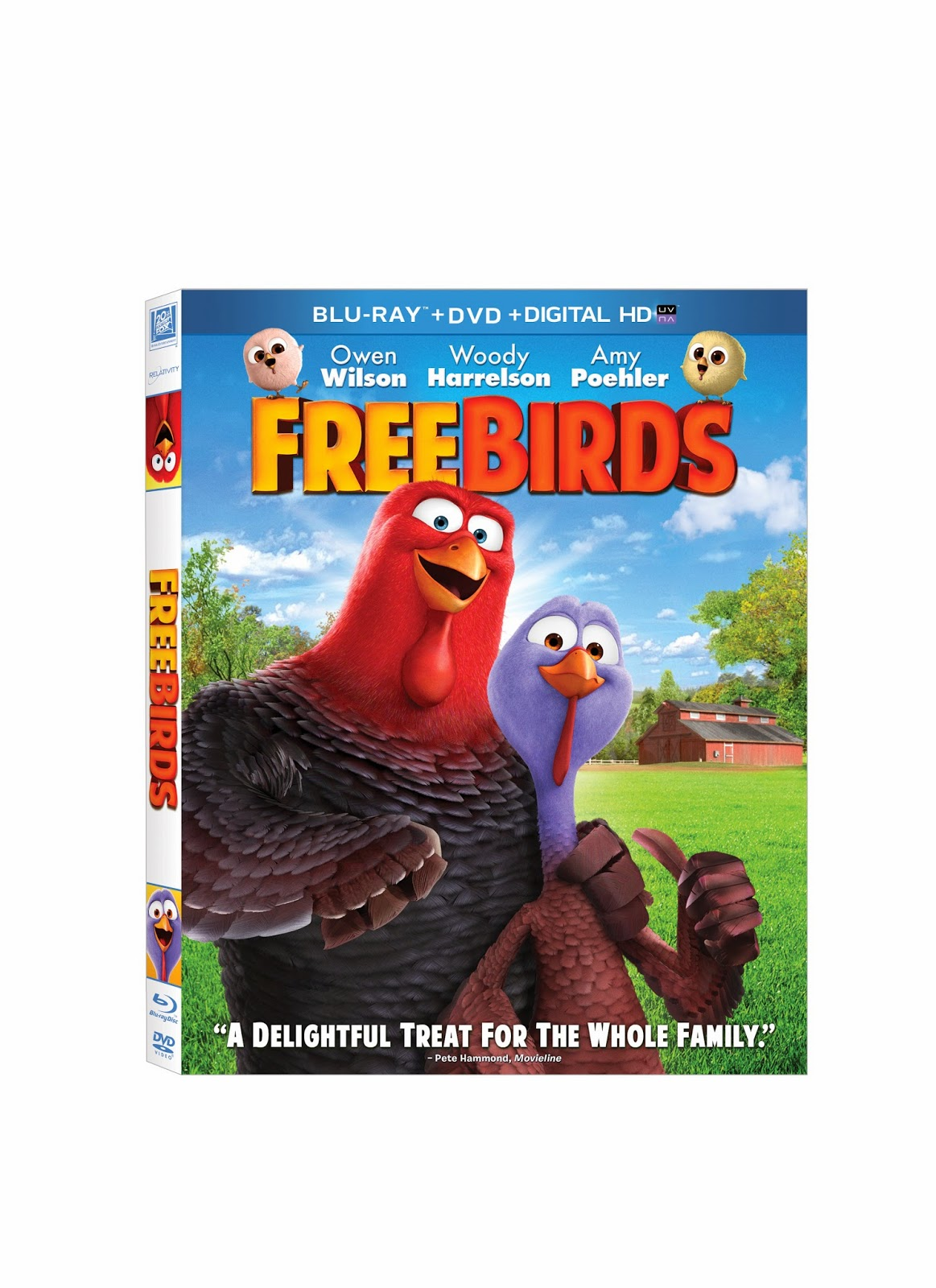 New Age Mama: Free Birds Blu-ray #Giveaway & Activity ...
