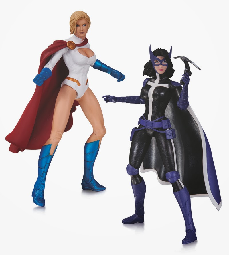 DC Comics Worlds' Finest New 52 Action Figures - Power Girl & Huntress