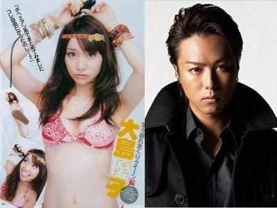 Oshima Yuko (AKB48) & TAKAHIRO (EXILE)