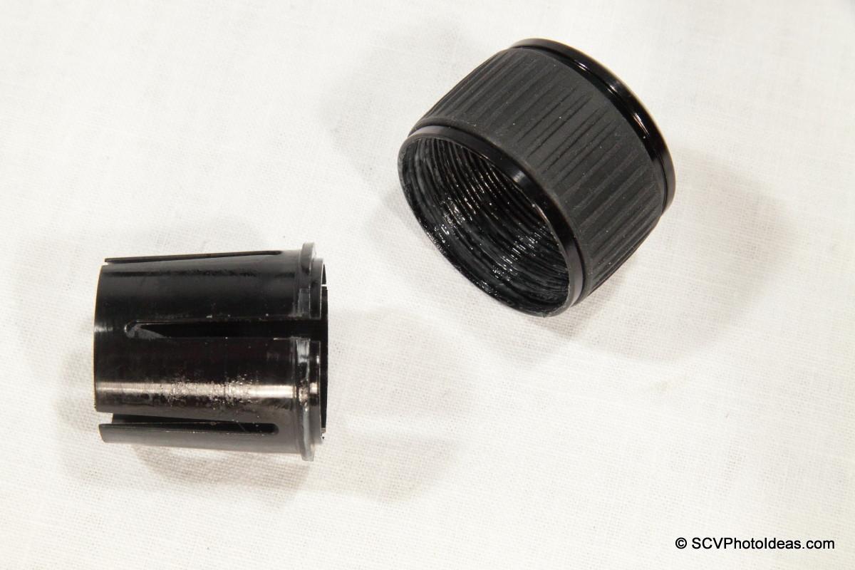 Triopo GT-3228X8C center column lock nut + cone ring
