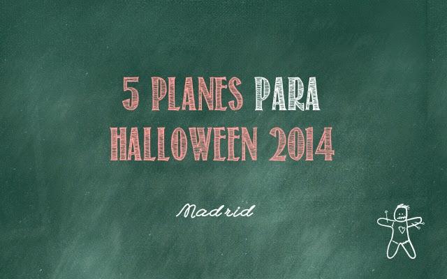 5 planes para Halloween