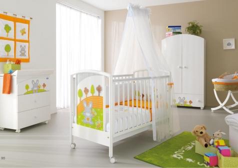 dormitorios de beb alegres y coloridos ideas para