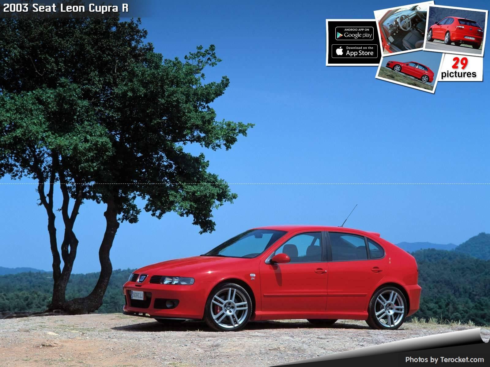 Hình ảnh xe ô tô Seat Leon Cupra R 2003 & nội ngoại thất