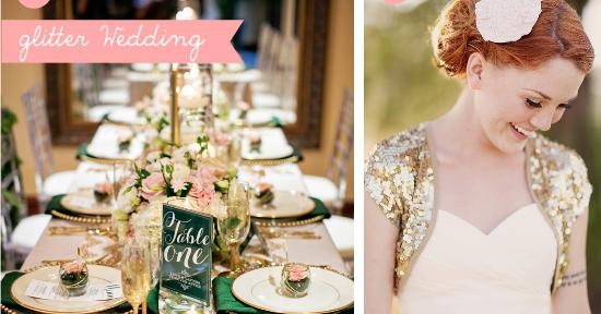 Matrimonio Tema Glitter : Funky wedding matrimoni a tema glitter themed
