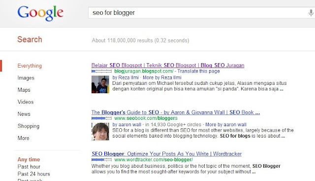 seo for blogger