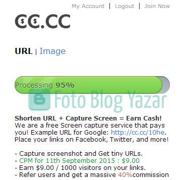 CC.CC Link Kısaltma