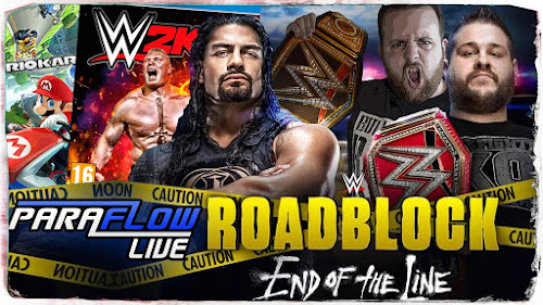 Poster Of WWE Roadblock End Of The Line 2016 480P 300MB