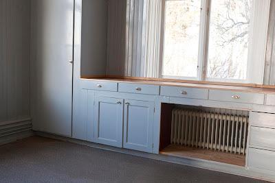 Köksbänk högre än fönster