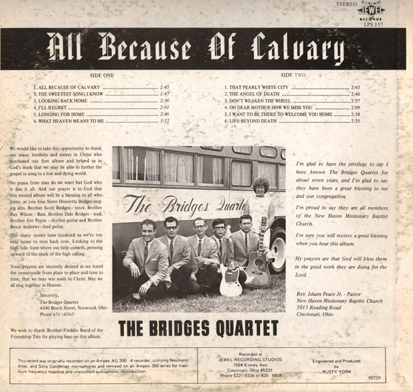Calvary covers it all lyrics