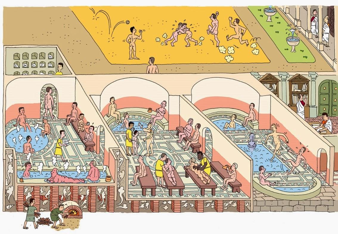 Baños Romanos Historia:Seguindo os passos da História: Os banhos públicos na Roma Antiga