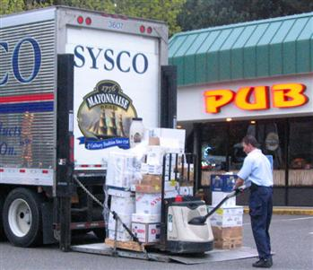 Sysco Food Delivery Truck Livin' Large by Defaul...