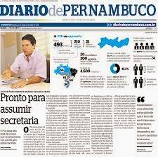 """""""Cores"""" no Diário de Pernambuco"""