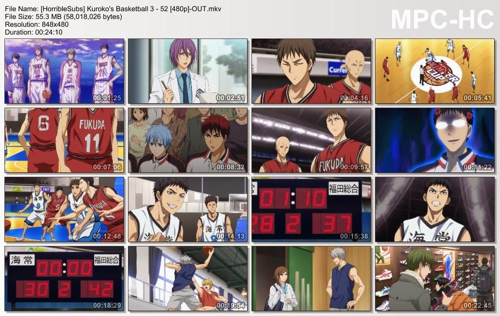 Kos Internet - Kuroko no Basket 3rd Season Episode 2 Sub English SD 480p