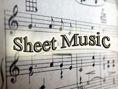 Sheet music photo