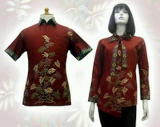 baju+batik+sarimbit BAJU BATIK wanita pria dan anak muda