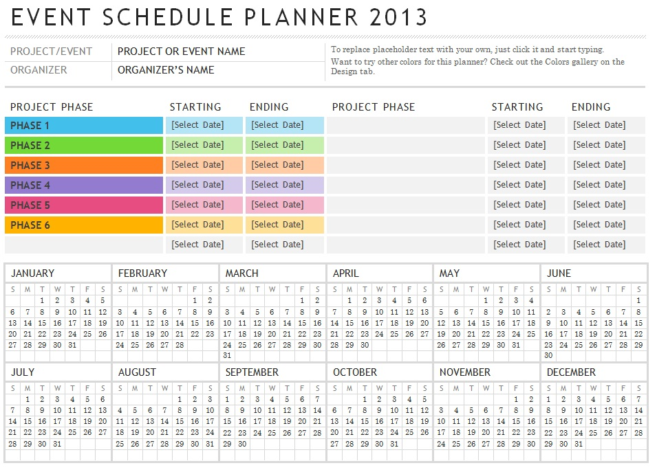 template free event planning checklist free event planner templates ...