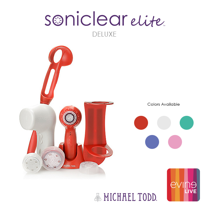 Michael Todd Soniclear Elite on EVINE Live! notesfrommydressingtable.com