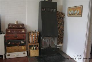 Bodega, Tv-rum, förvaring