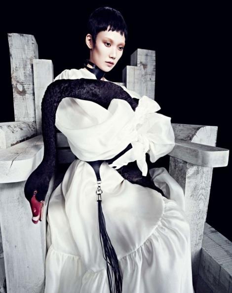 Tao Okamoto by Daniel Sannwald for Numéro China No.32