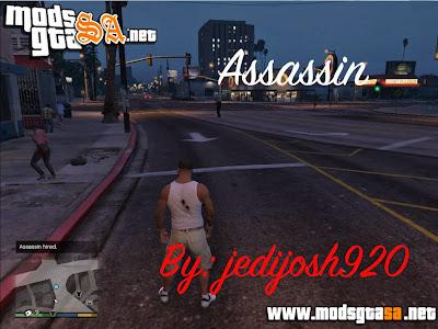 V - Mod Assassino v0.1a para GTA V PC