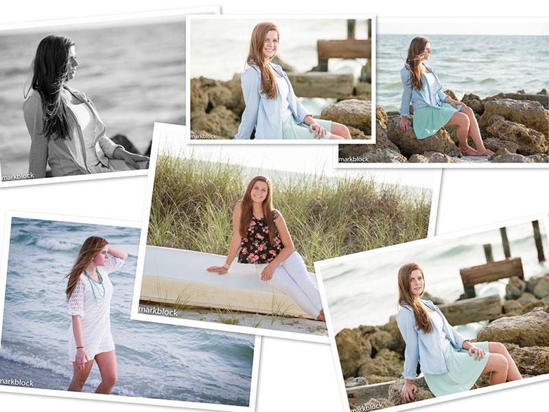 Mark Block Photography - High School Senior Portrait of Lindsay
