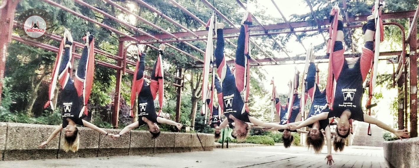 aerial yoga teachers training PILATES FITNESS