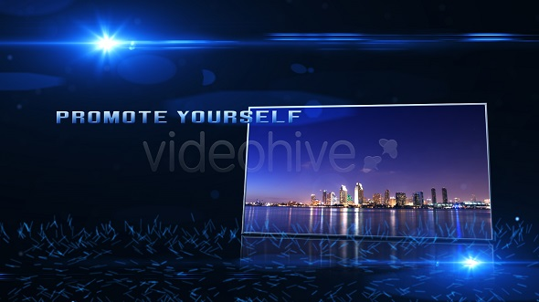 VideoHive Blue Tunnel