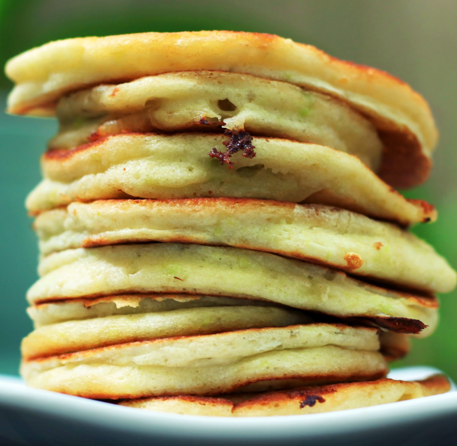 Savory Crescenza Pancakes