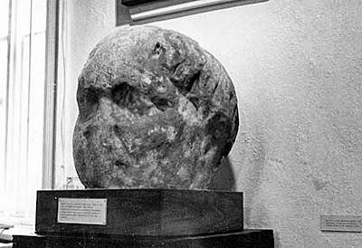 Chichester stone could be head of Emperor Nero